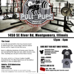 Pull for the Pups Charity Flyer